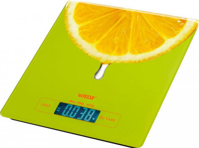 Кухонные весы Vitesse VS-616GRN