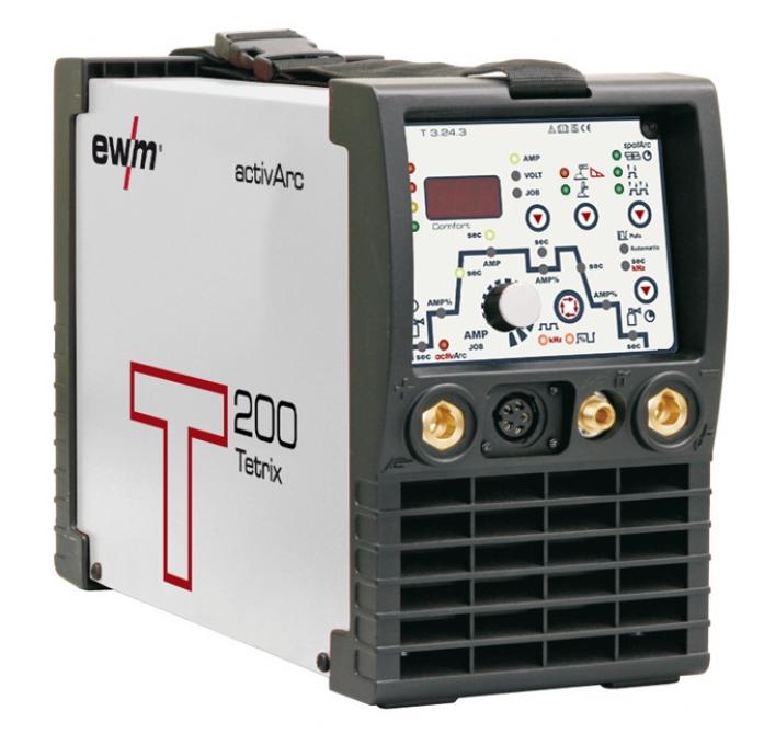 Сварочный аппарат EWM TETRIX 200 COMFORT PULS 8P TG 090-000228-00504