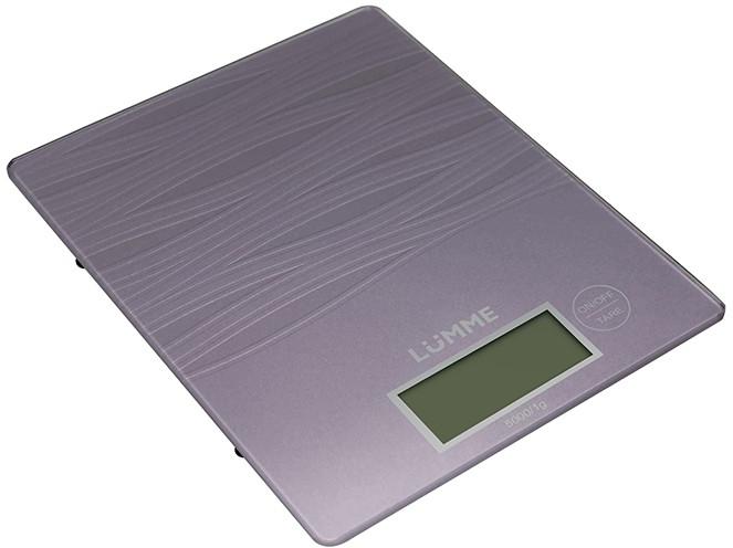 Кухонные весы LUMME LU-1318 лиловый аметист