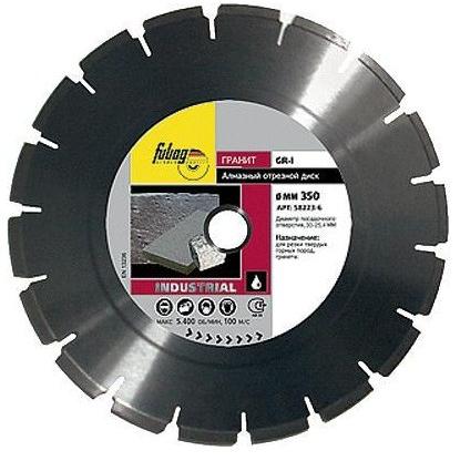 Алмазный диск FUBAG GR-I 350/30-25.4 мм 58223-6
