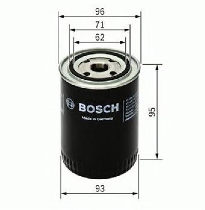 Фильтр масляный Bosch 0 451 203 154