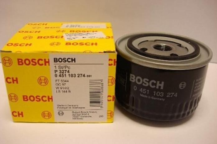 Фильтр масляный Bosch 0 451 103 274