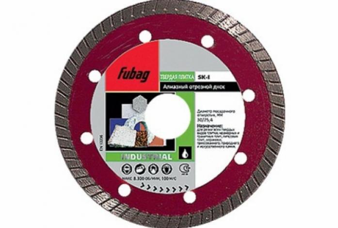 Алмазный диск FUBAG SK-I 180/30-25.4 58315-6