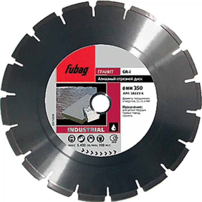 Алмазный диск FUBAG GR-I 300/30-25.4 58123-6