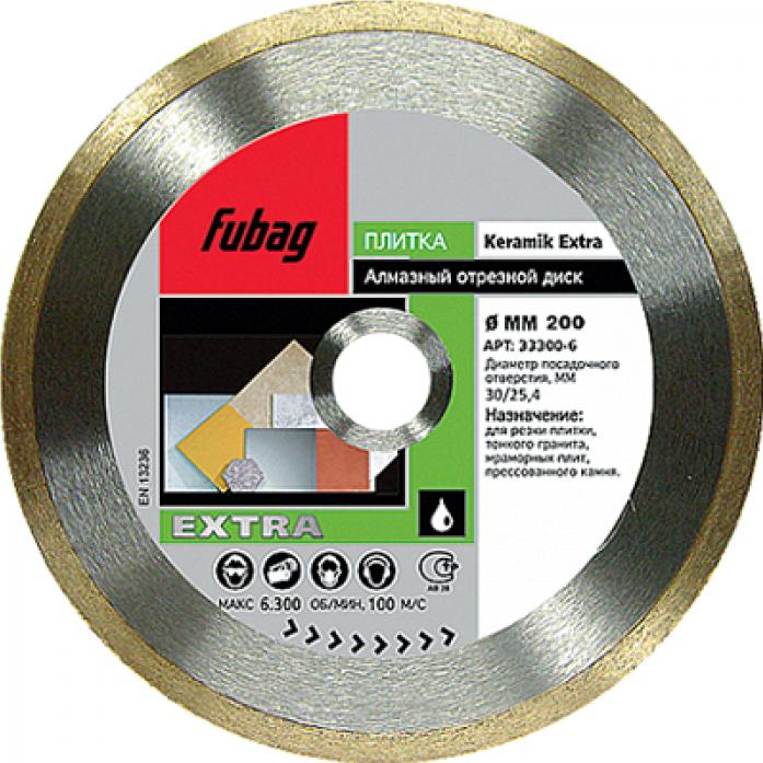 Алмазный диск FUBAG Keramik Extra 115/22.2 33115-3