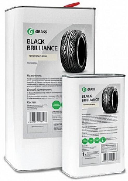 """Средство для чернения резины GRASS """"Black Brilliance"""" 1л 125100"""