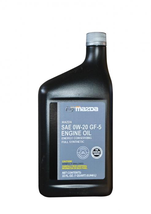 Масло моторное Mazda 0w20 0,946л 0000-G5-0W20-MQ USA