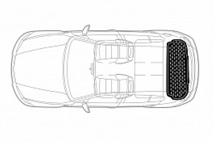 Ковер в багажник LADA 4x4 5D (оригинальный рисунок (X/V) 99999213173282