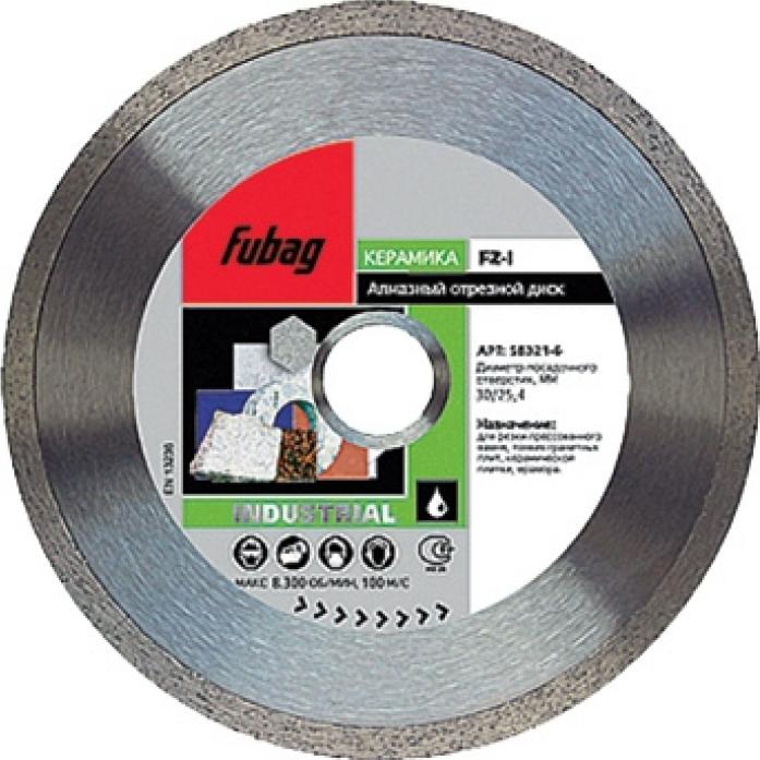 Алмазный диск FUBAG FZ-I 180/30-25.4 58121-6