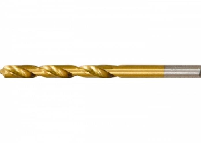 Сверло по металлу Matrix 717450 HSS 4,5мм нитридтитан