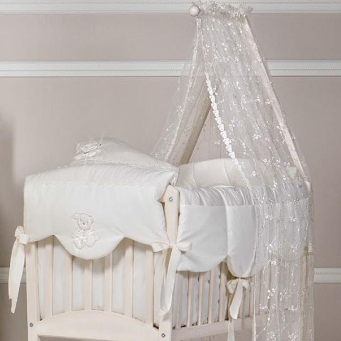Комплект постельного белья Picci MIMMI для люльки CREAM кремовый D47L30-09