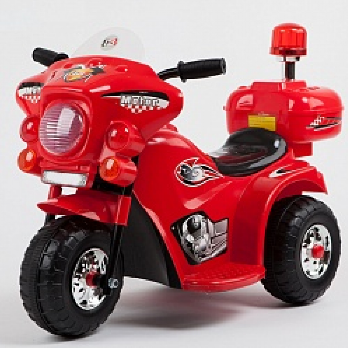 Электромотоцикл JIAJIA JT368, батарея 6V4.5Ah, 3-6 лет, красный RED
