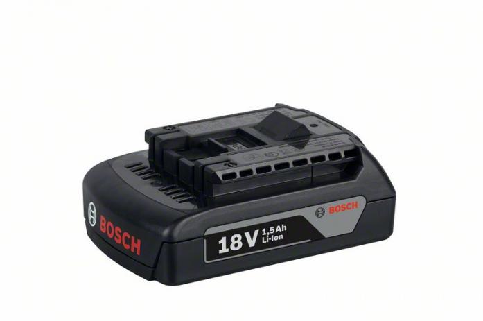 Аккумулятор Bosch 18В 1.5Ач Li-Ion 1600Z00035