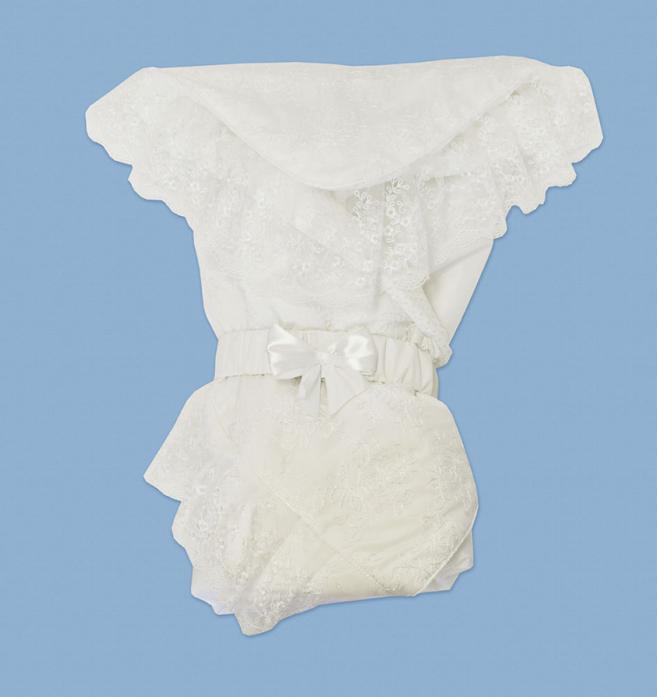Одеяло демисезонное Лео ЗИМНИЙ ВАЛЬС р. 62 100*100 белый