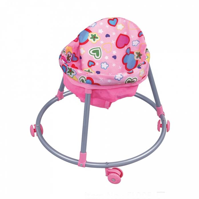 Кукольные ходунки FEI LI TOYS, розовый FL995