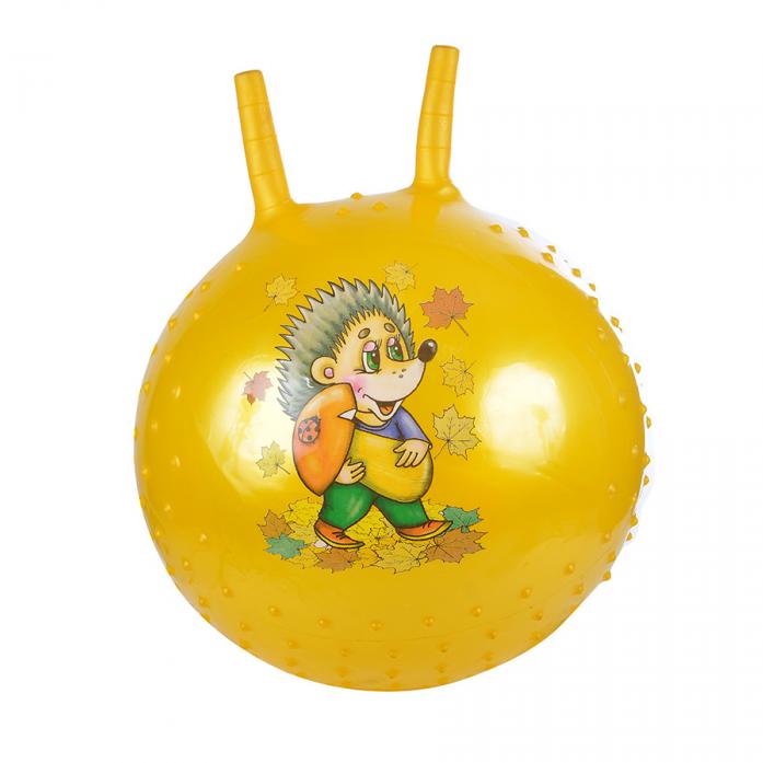 Мяч Spring International ежик 38см желтый