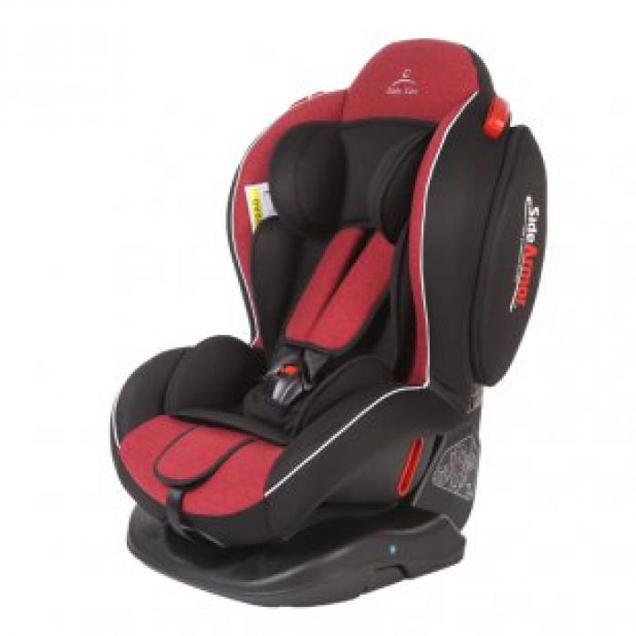 Автокресло Baby Care Side Armor Evolution BS01N-SE1 Красный/Черный (6905-101)