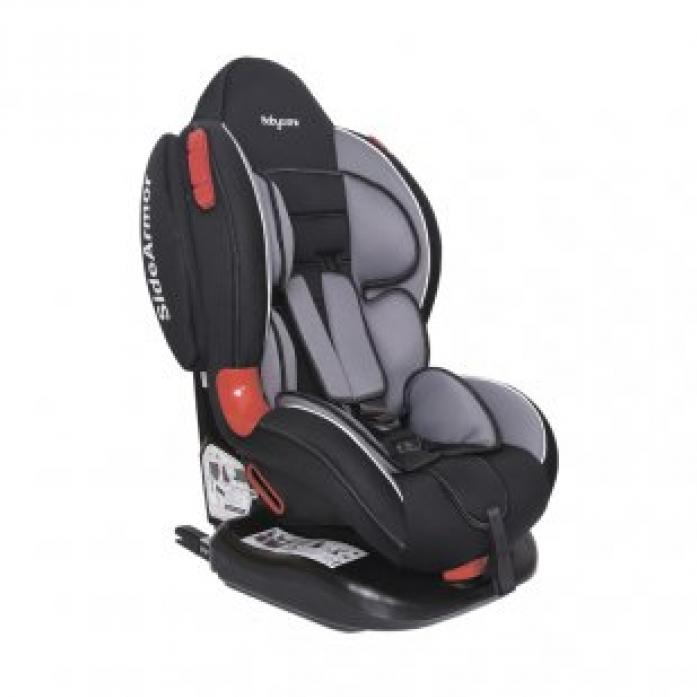 Автокресло Baby Care BC-02 Isofix Люкс черный/серый
