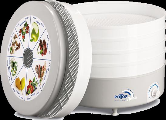 Сушилка для овощей Ротор Дива СШ 007 (007-05) 3 поддона