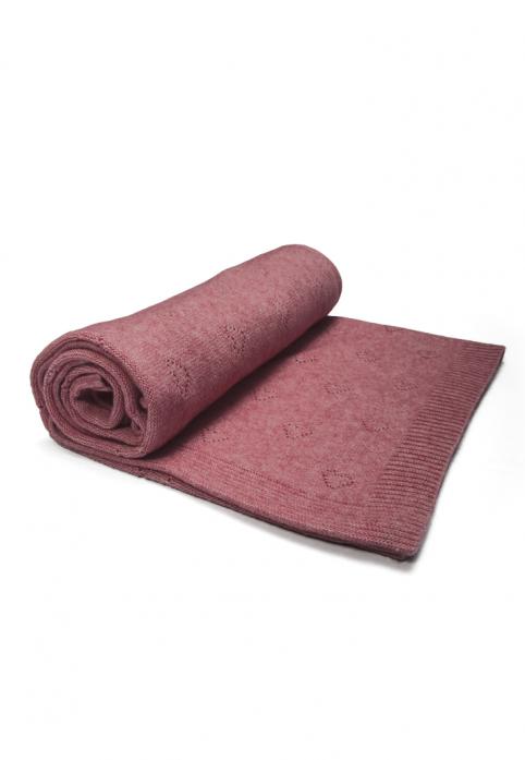 Плед Сонный Гномик Карамелька 579/2 розовый