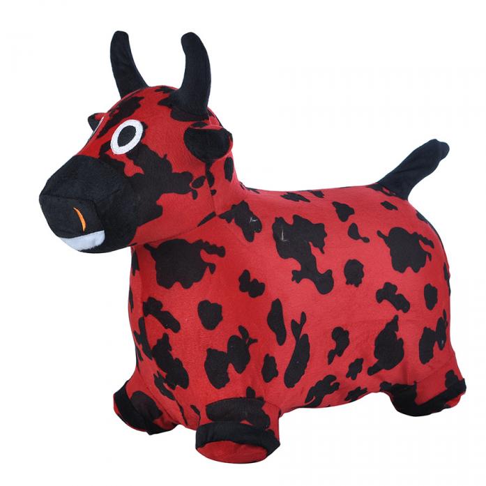 Надувные животные Spring International Коровка Красно-черный