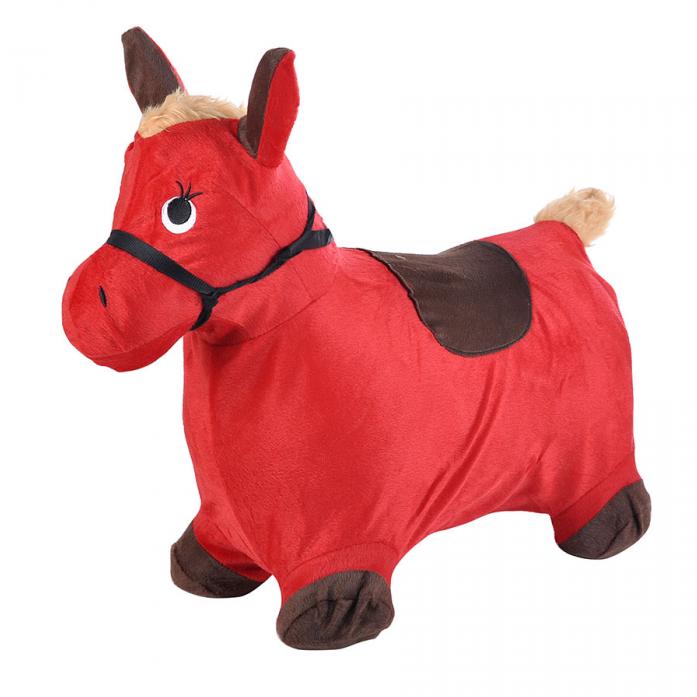 Надувные животные Spring International Пони красный