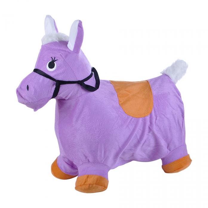 Надувные животные Spring International Пони сиреневый