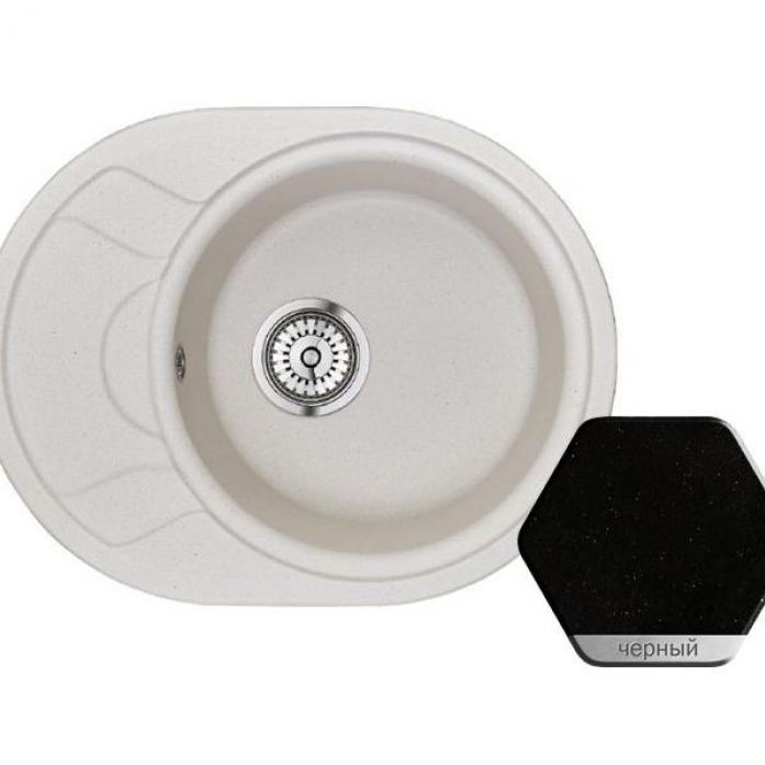 Кухонная мойка Weissgauff ASCOT 575 Eco Granit черный