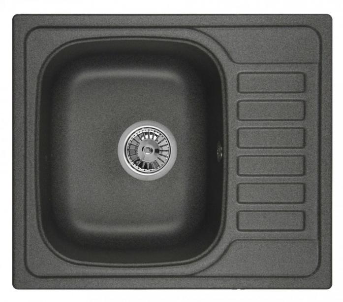 Кухонная мойка Weissgauff QUADRO 575 Eco Granit графит