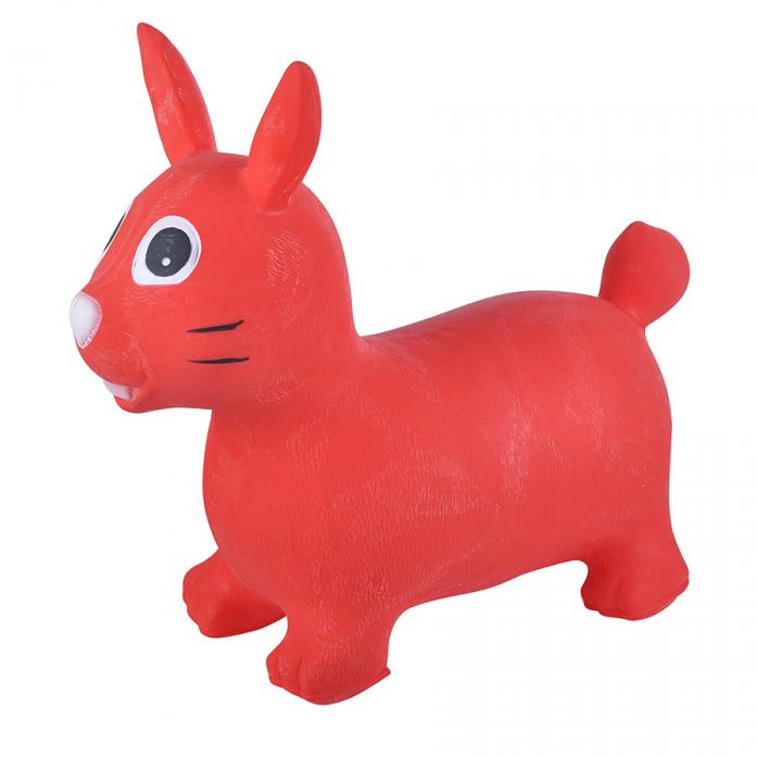 Надувные животные Spring International Зайка красный