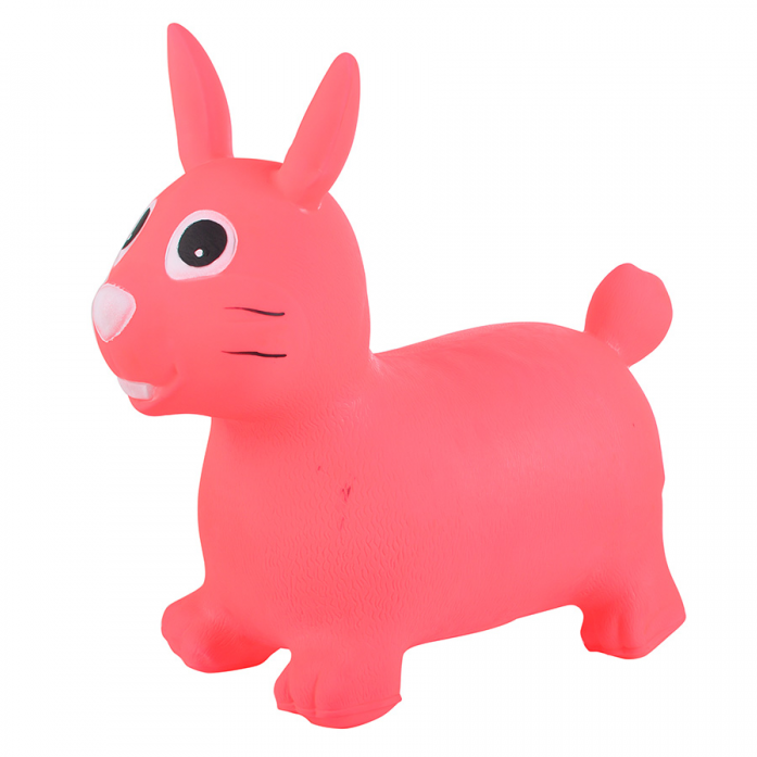 Надувные животные Spring International Зайка розовый