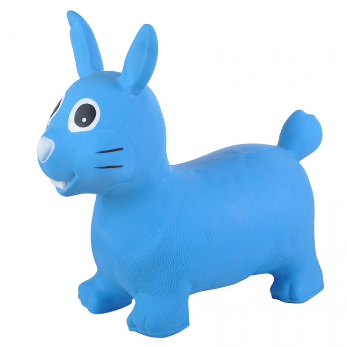 Надувные животные Spring International Зайка синий