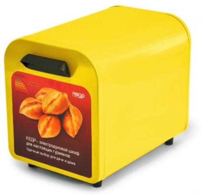 Мини-печь Кедр ШЖ- 0,625/220 желтый