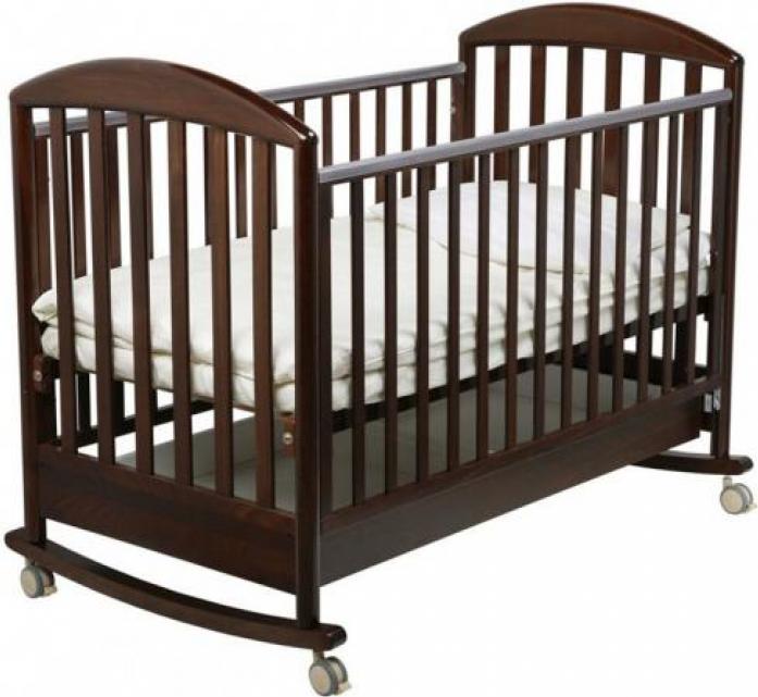 Кровать Papaloni Джованни 120x60 шоколадный орех