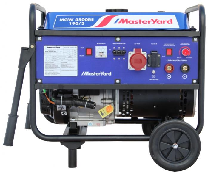 Генератор Masteryard MGW 4500RE-190/3