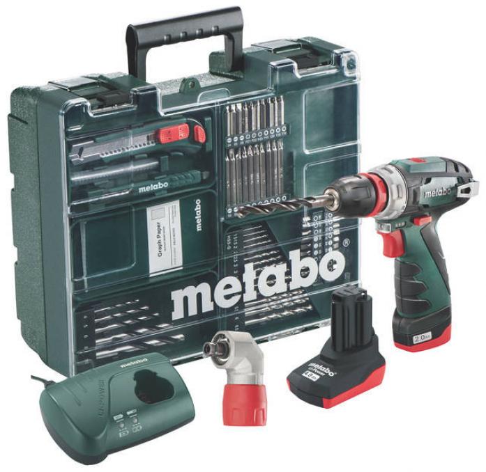 Винтоверт Metabo PowerMaxx BS Quick Pro с набором оснастки 600157880