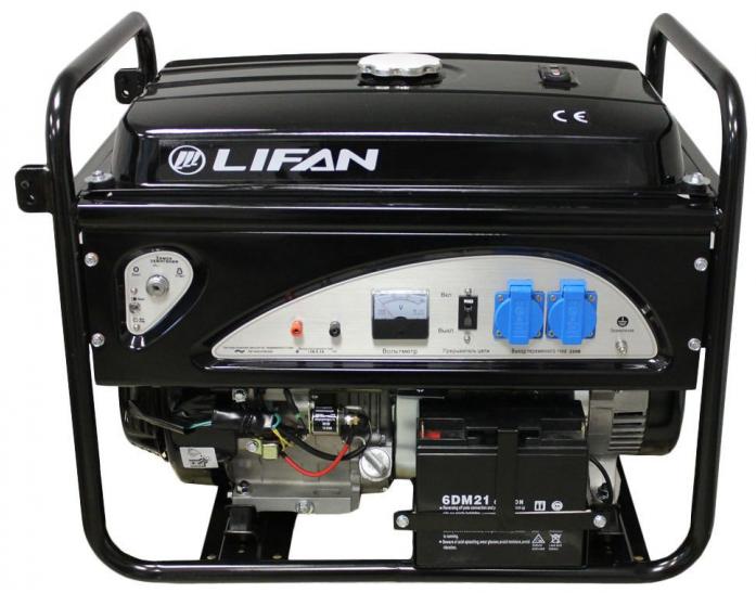 Генератор бензиновый Lifan 6GF-4