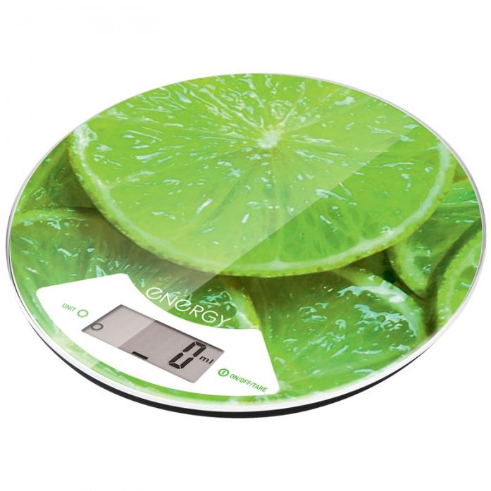 Кухонные весы ENERGY EN-403 лайм