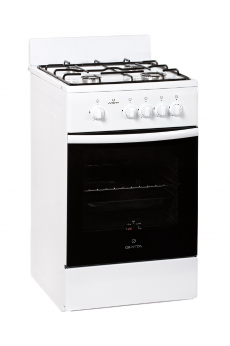 Газовая плита Greta 1470-00-23 белая