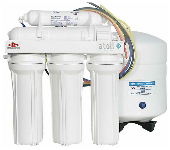Система обратного осмоса Atoll A-550р MAX (A-560Ep Premium)