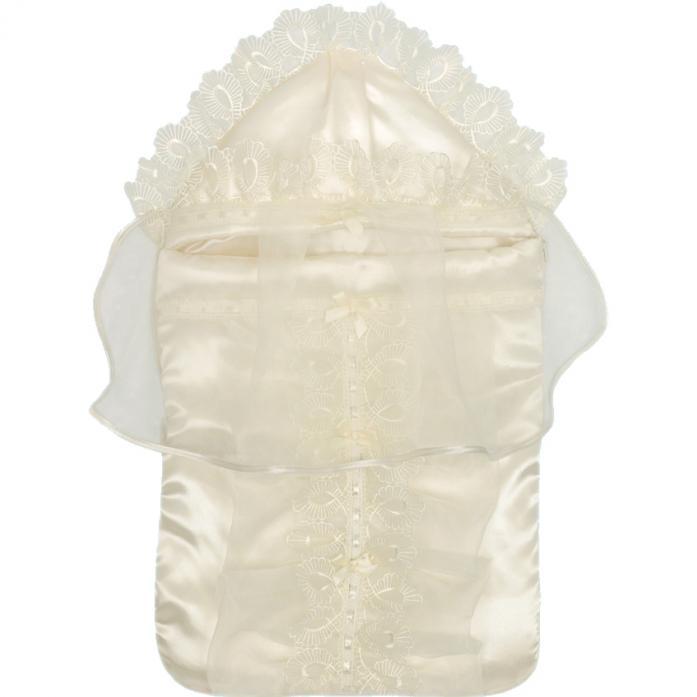 Конверт на выписку Little People Версаль 6 предметов Молочный 10033