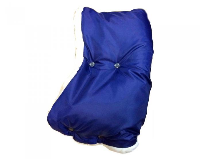 Муфта Baby Care Standard мех+плащевка темно-синий 153