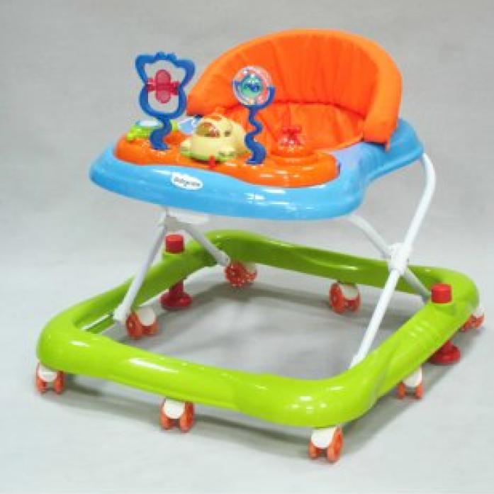Ходунки Baby Care Mario Blue/Green