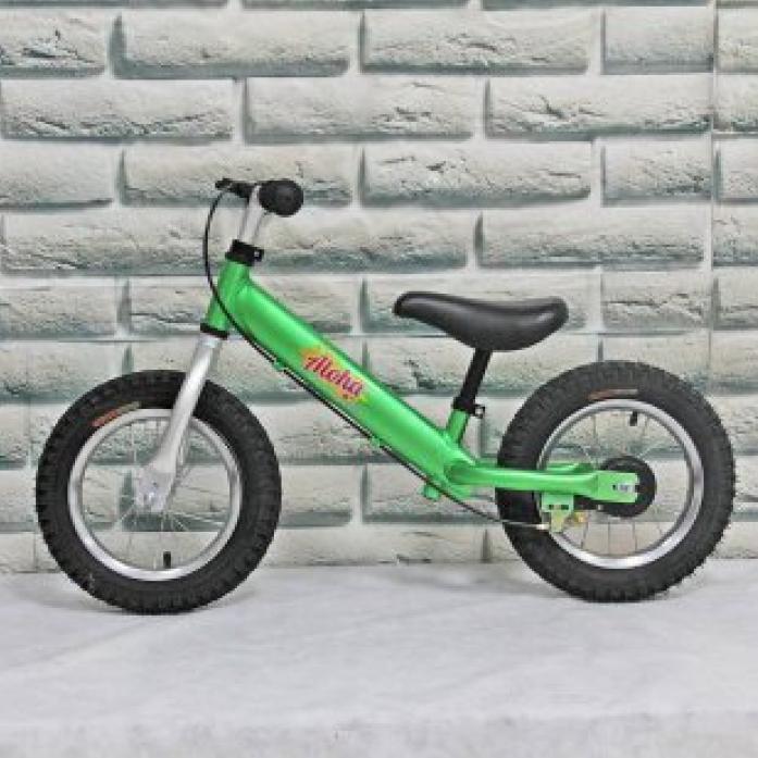 Беговел Jetem Aloha (с ручным тормозом) Green