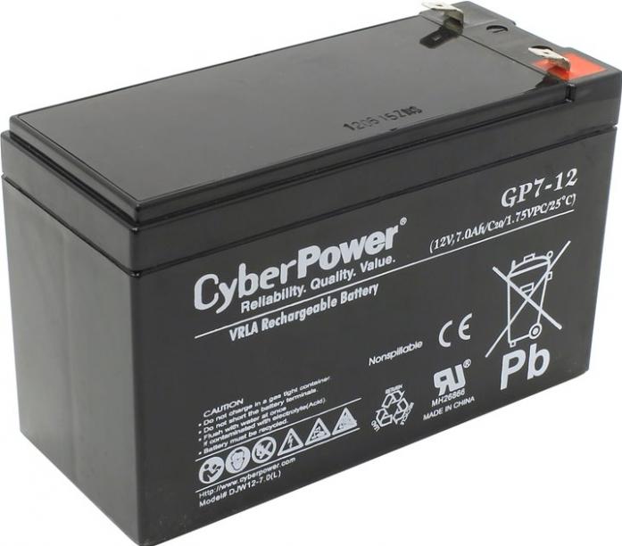 Аккумулятор для ИБП CYBERPOWER 12V7Ah