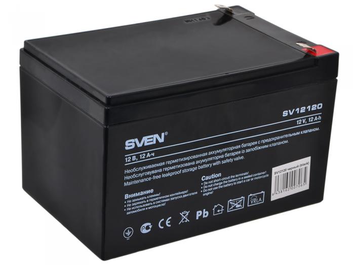 Аккумулятор для ИБП SVEN SV 12V12Ah
