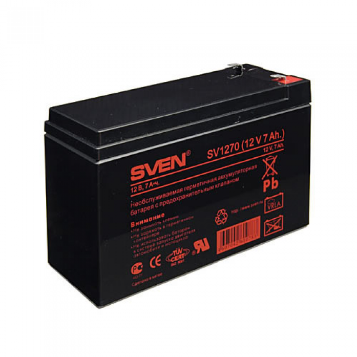 Аккумулятор для ИБП SVEN SV 12V7.2Ah