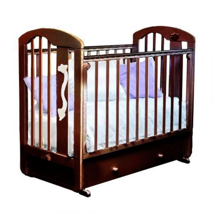 Кровать Можга С-719 Агата накладка ростомер №11 Шоколад