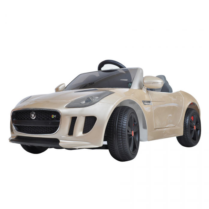 Электромобиль Shine Ring Jaguar F-Type 12V/7Ah SR218 Шампань