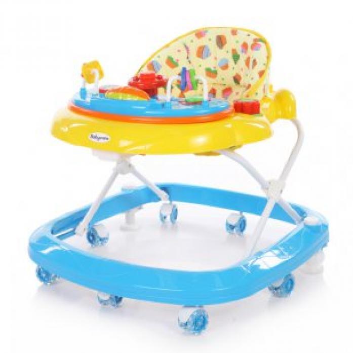 Ходунки Baby Care Sonic Yellow/Blue